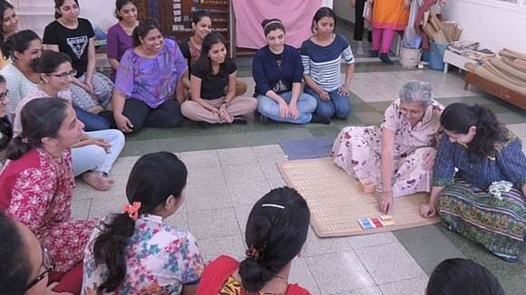 AMI Montessori Training Teachers Learning