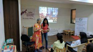 Sherin Mathews talk at RTI Montessori School