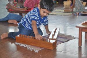 Montessori School Mumbai - Sorting