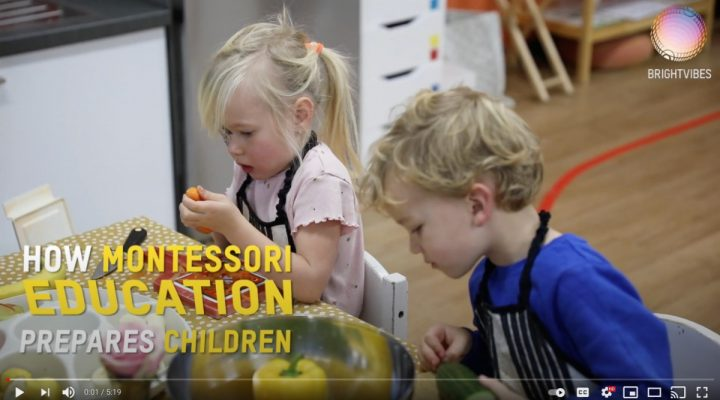 The Montessori Approach Is About Creating Children for A Life of Caring