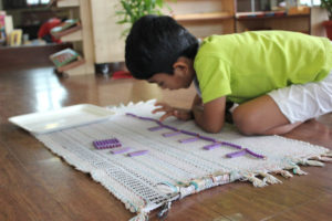 Montessori School Mumbai - Math Bead Chain